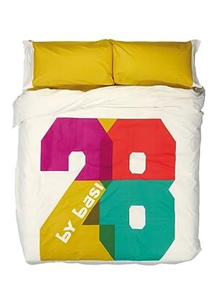 ByBasi Juego de Funda Nórdica 28 (Multicolor)