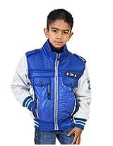 LITTLE BUGS Boy's Full Sleeve Nylon Jacket -Blue