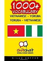 1000+ Vietnamese - Yoruba, Yoruba - Vietnamese Vocabulary