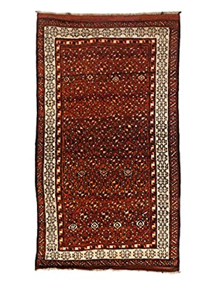 Darya Rugs One-of-a-Kind Tribal Rug, Walnut, 5' 1