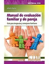 Manual de evaluacion familiar y de pareja (Eduación, orientación y terapia familiar)