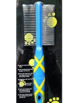 Hello Pet, Non Slip Handled Double Sided Comb