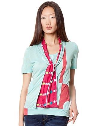 Custo Camiseta (Verde Agua)