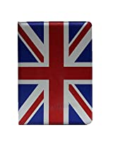 Uk Flag Stand Leather Case Smart Cover For Apple Ipad Air / Ipad 5