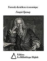 Formule du tableau économique (French Edition)