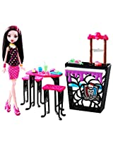 Monster High Beast Bites Cafe Draculaura Doll & Playset