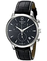 Tissot Analog Black Dial Men's Watch - T0636171605700