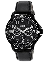 Citizen Analog Black Dial Men's Watch AG8315-04E