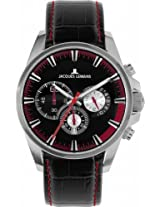 Jacques Lemans Chronograph Black Dial Men's Watch - 1-1655D