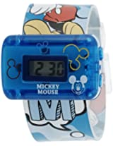 Disney Digital Grey Dial Boy's Watch - MSSQ801-01B