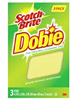3M 723-2F 3PK Dobie Cleaning Pad 1 AD