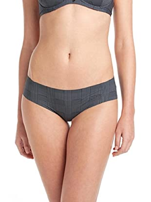 Esprit Bodywear Damen Pant X0036/Destiny, Kariert (Schwarz (04))