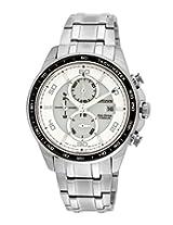 Citizen Eco-Drive Analog White Dial Men's Watch CA0341-52A- 23 cm