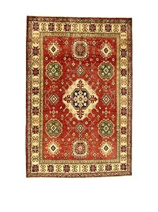 L'Eden del Tappeto Teppich Uzebekistan rot/mehrfarbig 295t x t196 cm