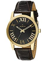 Aveiro Analog Black Dial Men's Watch - AV111GL_BLK