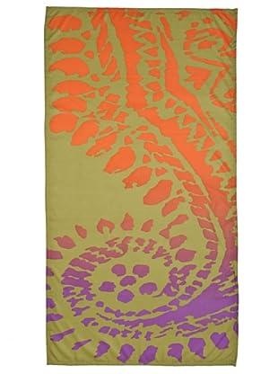 Zucchi Fiera Del Bianco Telo Microfibra 95x175 (viola/verde)