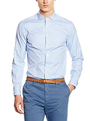 Hackett London Camisa Hombre Royal Twill Check