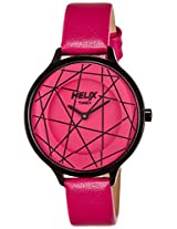 Helix Constellation Analog Multi-Color Dial Women's Watch - 08HL03
