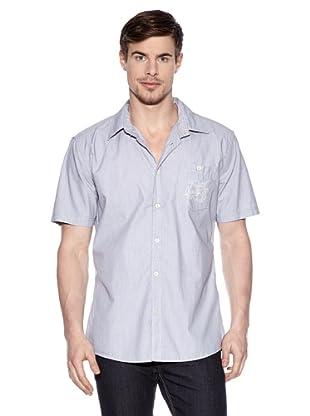 Tom Tailor Camisa Ostia Lido (Azul)