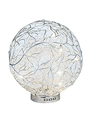 Illuminated Décor 7-Light LED Table Lamp, Silver