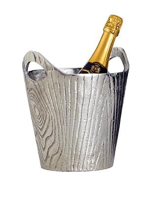 Torre & Tagus Aluminum Bark Wine Bucket