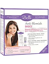 Belli Skin Care - Anti-Blemish Basics - Anti-Blemish Facial Wash 6.5 oz & Acne Control Spot Treatment 0.5 oz.