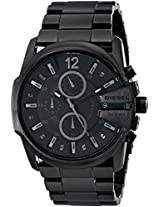 Diesel End-of-Season Analog Black Dial Men Watch - DZ4180