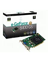 EVGA GeForce 8400 GS 512 MB DDR2 PCI Express DVI/VGA/S-Video Graphics Card, 512-P2-N738-LR