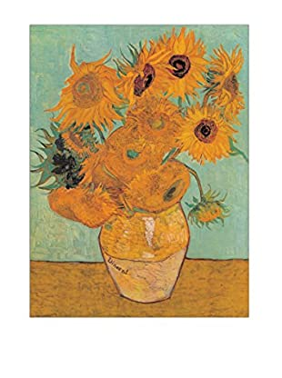 Artopweb Panel Decorativo Van Gogh Sunflowers 2 80x60 cm Multicolor
