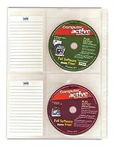 CD Wallet Pocket With Label For Ring Binder CD 010