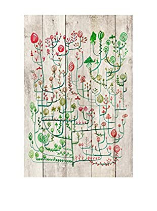 Surdic Panel de Madera Garden Multicolor