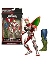 Hasbro Year 2013 Marvel Legends Infinite Spider Man Series 7 Inch Tall Action Figure Deadliest Foes Beetle With Removable Wing And Green Goblins Left Leg