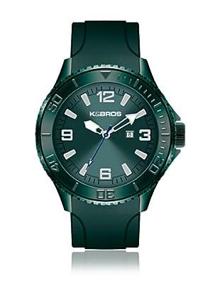 K&BROS Reloj 9563 (Verde)
