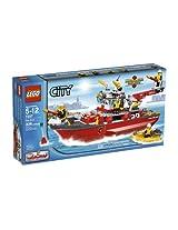 LEGO City Fire Ship (7207)