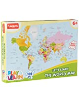 Funskool World Map Puzzles