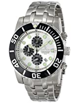 Sartego Men's SPC51 Ocean Master Stainless Steel Chronograph Watch
