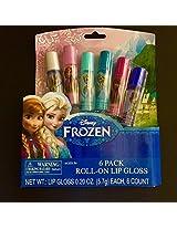 Frozen Roll On Lip Gloss 6 Pack