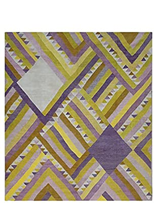 nuLOOM Natalia Hand-Knotted One-of-a-Kind Rug, Multi, 8' 4