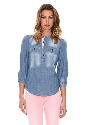 Pepe Jeans London Bluse Sana (Blau)