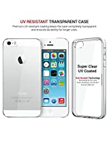 Very High Quality UV Coated Iphone 5 5s Crystal Case Hard Clear Transparent Plastic type Swiztek International Brand