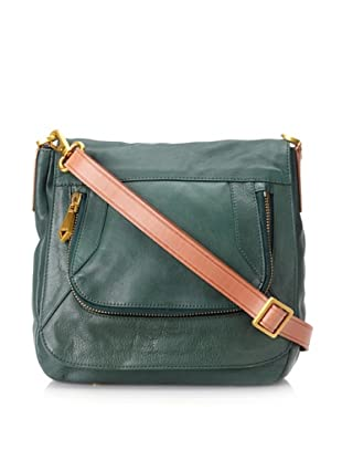 Christopher Kon Women's Alyson 2-Tone Cross-Body (Green)