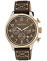 Nautica Chronograph Brown Dial Men's Watch  - NTA17649G