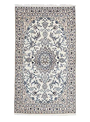 Darya Rugs Authentic Persian Rug, Ivory, 3' x 6' Runner
