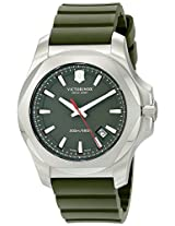 Victorinox Men's 241683.1 I.N.O.X. Analog Display Swiss Quartz Green Watch