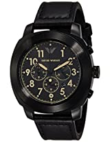 Emporio Armani Analog Black Dial Men's Watch - AR6061