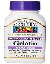 21st Century Gelatin 100 Capsules