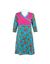 Cotton Curio Women's Traditional Kurti_XL - (11003403_XL_Turq)