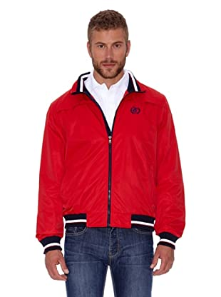 Polo Club Cazadora Micro Zipper (Rojo)