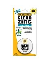 Solar Sense Clear Zinc SPF 70 Cream For Face  (Carded Jar), 0.5 Ounce Unit