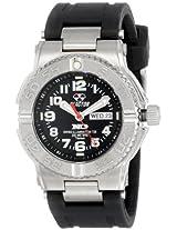 REACTOR Mens 58481 Trident Titanium Sport Watch with Rubber Strap